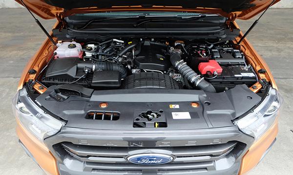 เครื่องยนต์ดีเซล EcoBlue TDCi (เทอร์โบคู่ Bi-Turbo) ขนาด 2.0 ลิตร