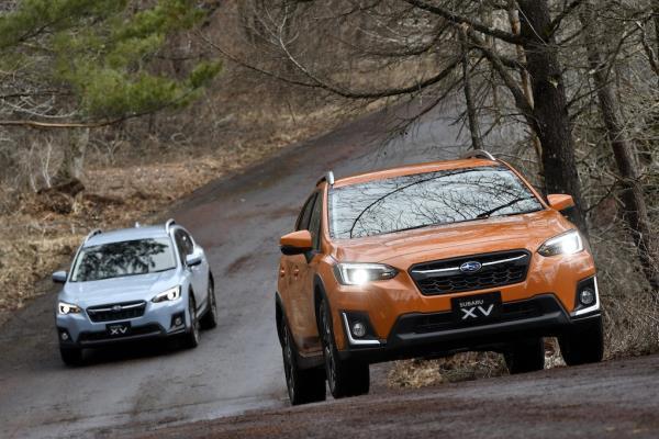 Subaru XV ขึ้นเขา