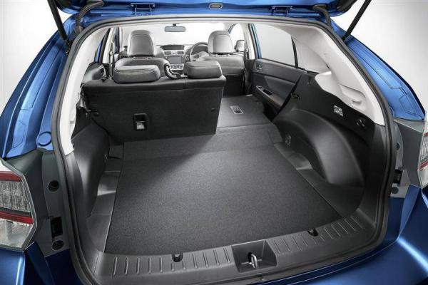 Subaru XV ห้องเก็บสัมภาระ