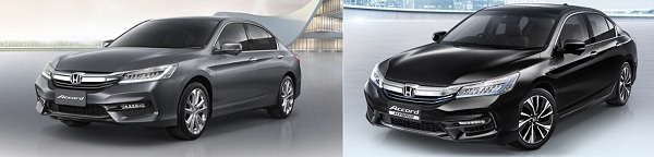 Honda Accord และ  Honda Accord HYBRID