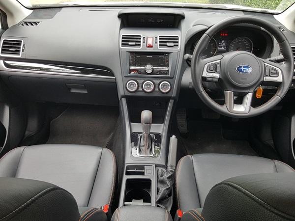 ภายใน Subaru XV 2014