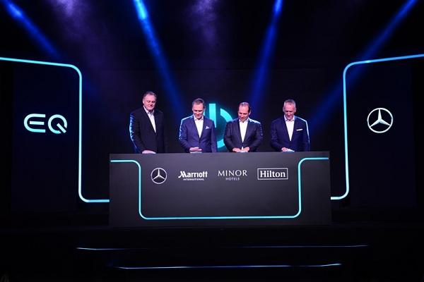EQ-Electric Intelligence by Mercedes-Benz สำหรับการให้บริการด้านพลังงานไฟฟ้า