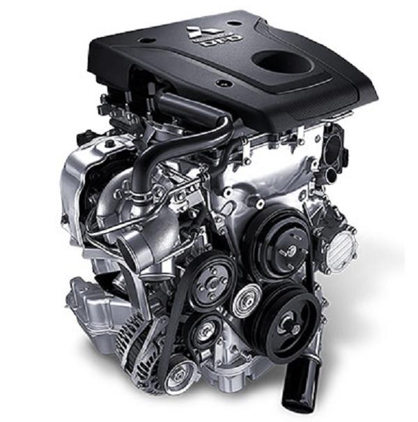 เครื่องยนต์ MIVEC Clean Diesel 2.4 L 181 HP