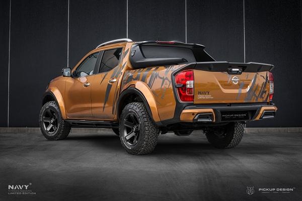 PICKUP DESIGN วางรูปแบบได้อย่างดีและสร้างชิ้นงานขึ้นมาใหม่จนเปลี่ยนโฉม Nissan Navara