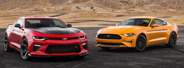 Ford Mustang 2018 vs Chevrolet Camaro 2018