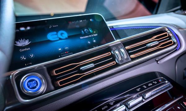 ฟีเจอร์ที่ทันสมัยที่มาพร้อมกับ Mercedes-Benz EQC