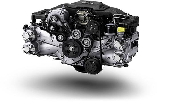 เครื่องยนต์ Subaru Boxer แบบ DOHC ขนาด 2.0 ลิตร