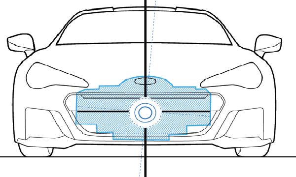 Subaru BRZ 2018 ได้รับการดีไซน์ให้รถมีจุดศูนย์ถ่วงที่ต่ำ