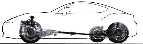 Subaru BRZ 2018 ขับเคลื่อนด้วยล้อหลัง