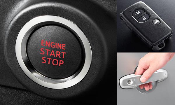 ผู้ขับขี่เข้าสู่รถได้โดยไม่ต้องใช้กุญแจ และ ปุ่ม Push Start