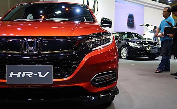 กระจังหน้าและสัญลักษณ์  All new Honda HR-V 2019