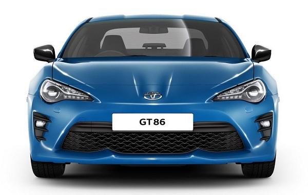 Toyota GT86 Club Series Blue Edition 2018 เป็นรถยนต์รุ่นพิเศษสไตล์สปอร์ต