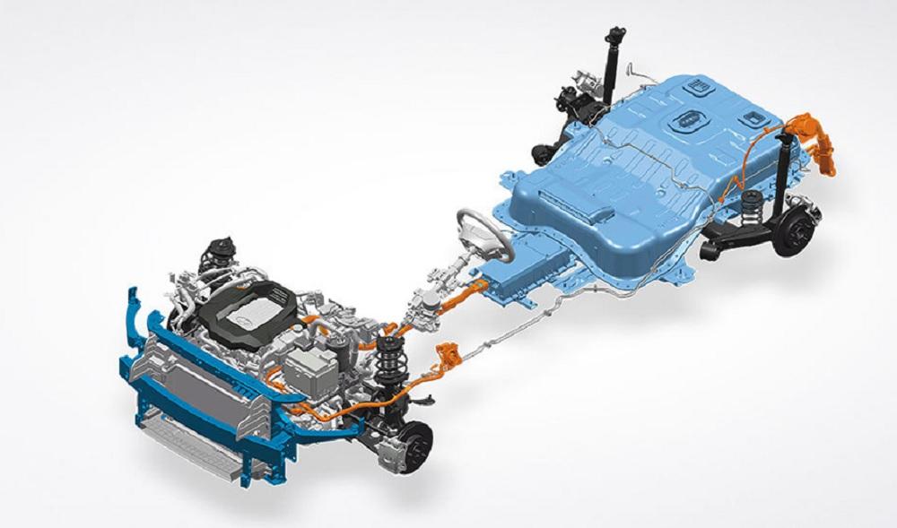 ระบบขับเคลื่อนไฟฟ้าของ HYUNDAI IONIQ Electric ได้ถูกออกแบบให้ชิ้นส่วนใช้งานร่วมกันอย่างลงตัว เพื่อเพิ่มประสิทธิภาพในขับขี่ที่ยอดเยี่ยมและระยะทางวิ่งที่ไกลกว่า