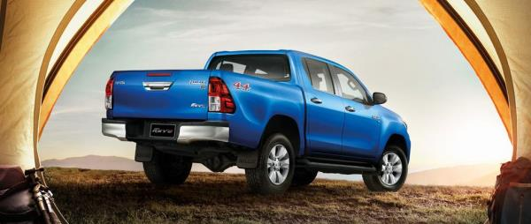ดีไซน์รอบคันของ  Toyota Hilux REVO MY2018