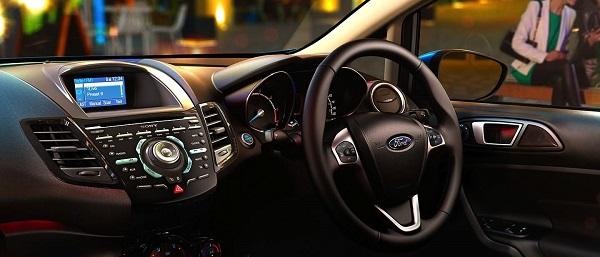 เทคโนโลยีล้ำๆ ภายในห้องโดยสารของ Ford Fiesta 2018