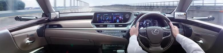 Lexus ES มุมมองภายในห้องโดยสาร