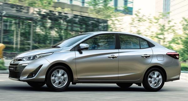 ดีไซน์ภายนอกรถยนต์ All New Toyota Vios 2018