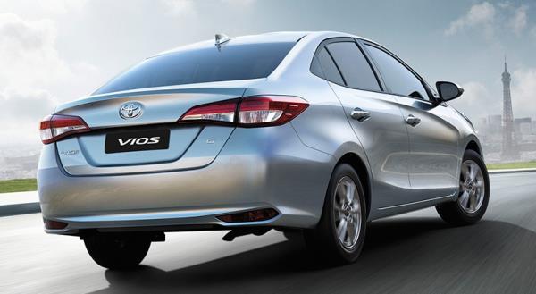 รถยนต์ All New Toyota Vios 2018