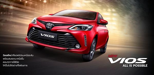 พร้อมใช้งานในทุกไลฟ์สไตล์กับ Toyota Vios 2018