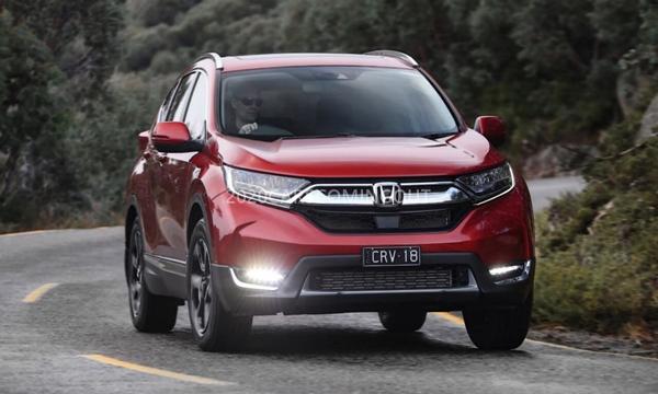 Honda CR-V Hybrid ติดตั้งกระจังหน้าแบบ Honda's Solid Wing Grille design