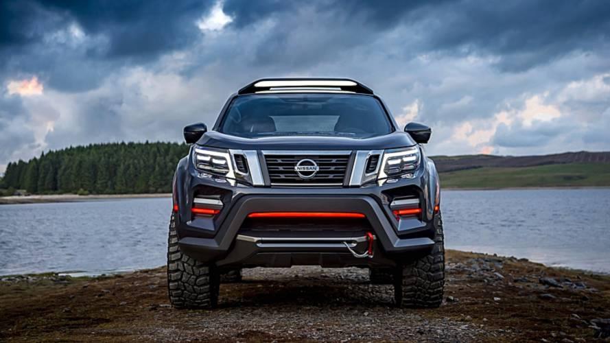 Nissan Navara Dark Sky Concept กระจังหน้า