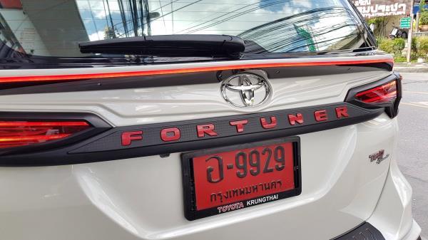 หนึ่งในอุปกรณ์การแต่งรถของ Toyota fortuner 2018