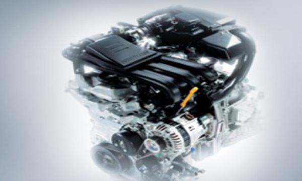 เครื่องยนต์ HR12DE แบบ 3 สูบแถวเรียง DOHC 12V CVTC ขนาด 1.2 ลิตร