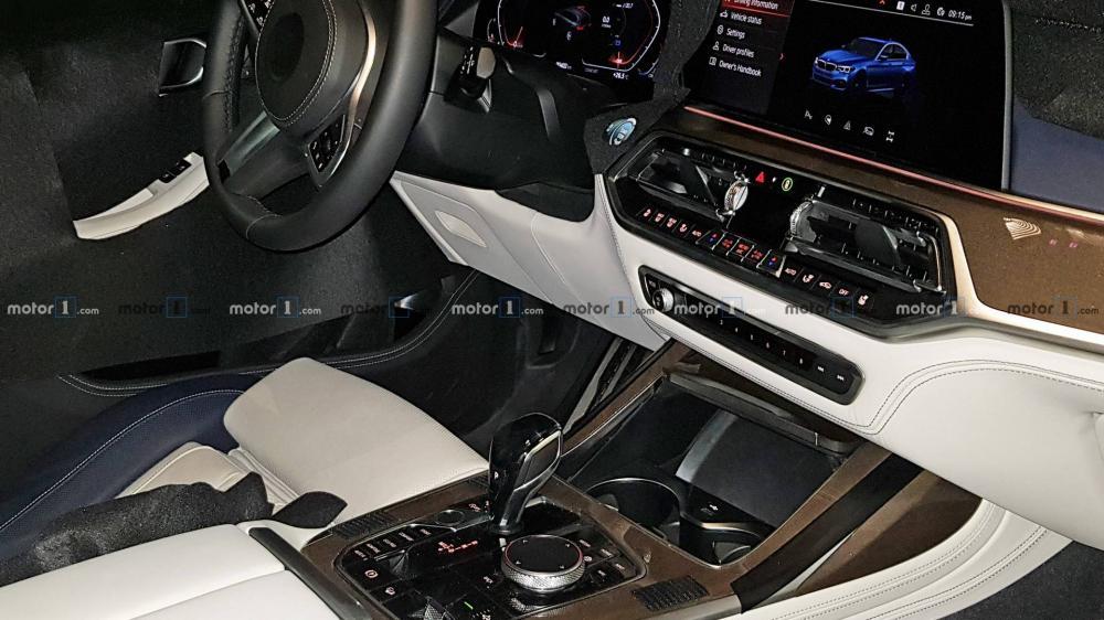BMW X7 2019 ภายในห้องโดยสาร