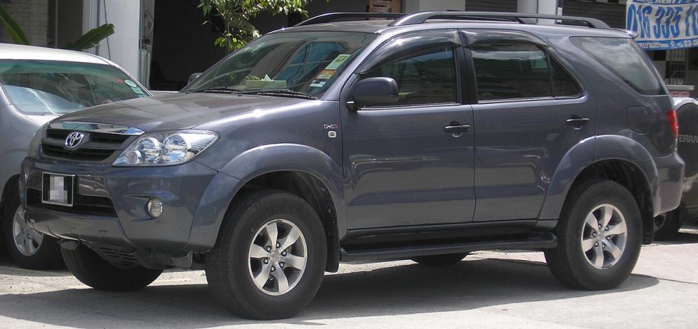 Toyota Fortuner 2004-2007