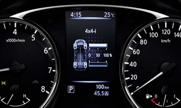 จอแสดงข้อมูลการขับขี่แบบ TFT 3D Meter