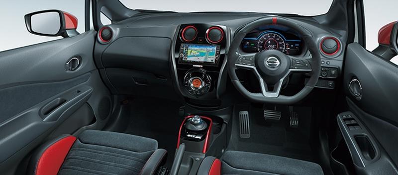 Nissan Note e-Power NISMO S 2018  ภายในห้องโดยสาร