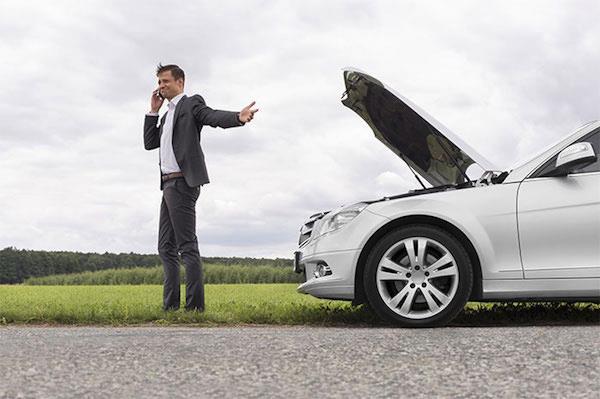หากรถเสียระหว่างทางให้จอดรถที่ไหล่ทางห้ามฝืนขับต่อโดยเด็ดขาด