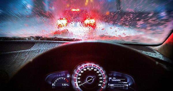 การขับขี่ที่มีทัศนวิสัยจำกัดมักทำให้ลดประสิทธิภาพในการขับขี่ลงได้