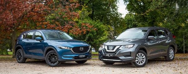 ค้นหาความเป็นตัวคุณที่สุดระหว่าง Nissan X-trail 2018 กับ Mazda CX-5 2018