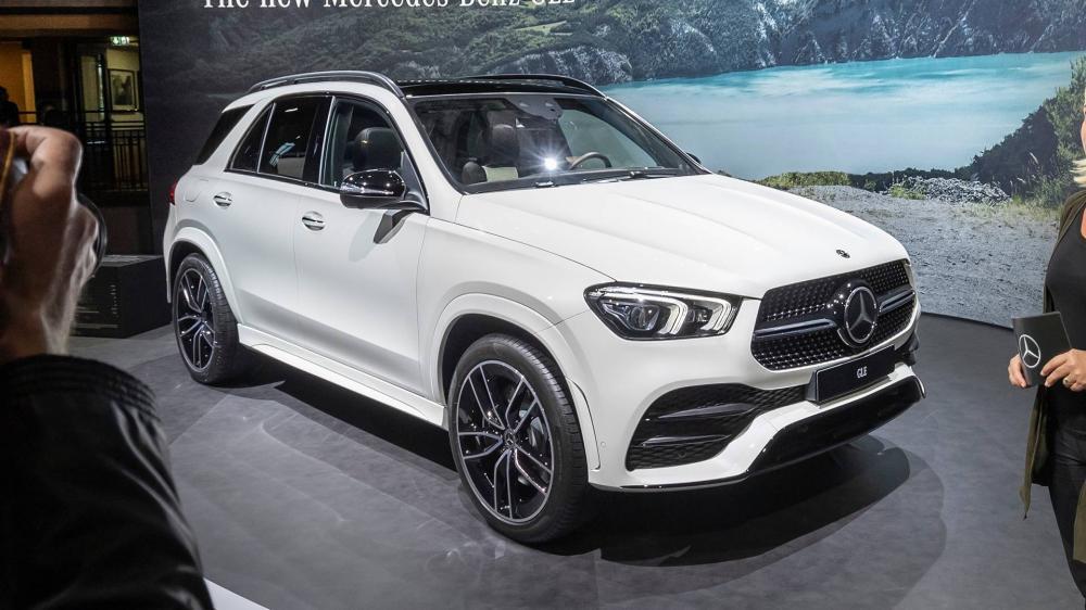 Mercedes GLE 2020  ด้านหน้า