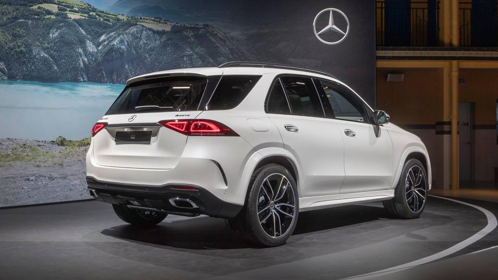 Mercedes GLE 2020  ด้านหลัง