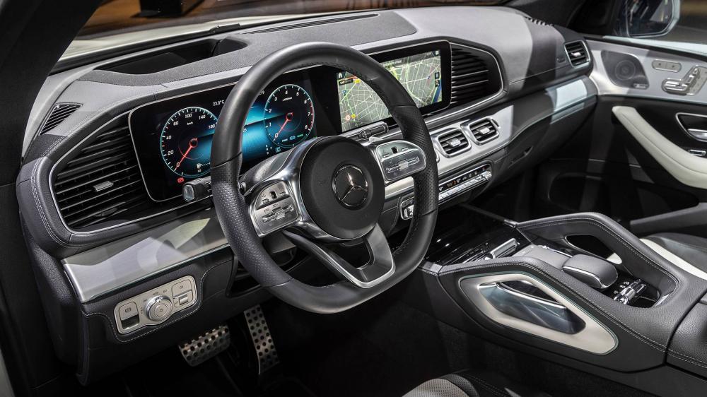 Mercedes GLE 2020  ภายในห้องโดยสาร