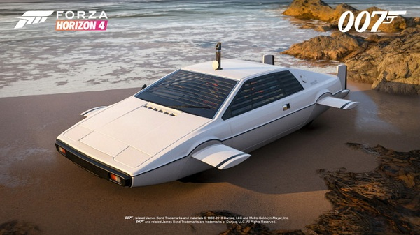 """ตื่นตาตื่นใจกับรถยนต์สวยๆใน กับ Forza Horizon 4 แพ็ครถแบบ """"Best Of Bond"""""""