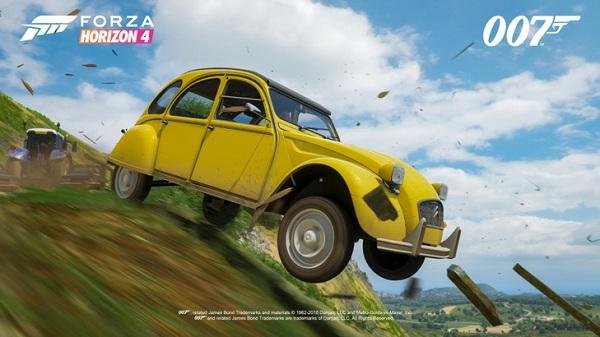 ความคลาสสิคและสวยงามของรถในเกม Forza Horizon 4