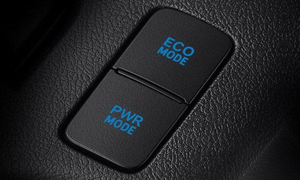 สวิตช์เลือกโหมดการขับขี่แบบ (Eco/Power)