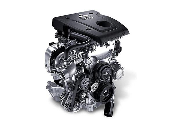 เครื่องยนต์ดีเซล คอมมอนเรล MIVEC Clean Diesel ขนาด 2.4 ลิตร 181 แรงม้า