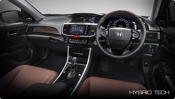 ภายในห้องโดยสารของ Honda Accord HYBRID 2018-2019  รุ่น HYBRID TECH