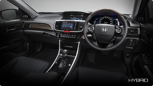 ภายในห้องโดยสารของ Honda Accord HYBRID 2018-2019  รุ่น HYBRID