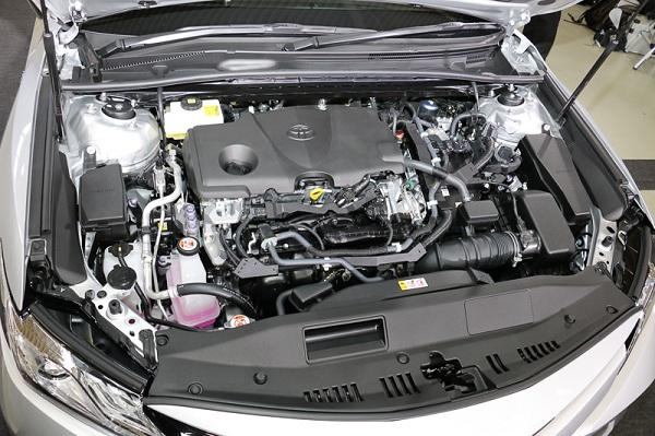 เครื่องยนต์เบนซิน Dynamic Force Engine Hybrid 2.5 ลิตร (รหัส A25A-FXS) ให้กำลังถึง 178 แรงม้าที่ 5,700 รอบ/นาที