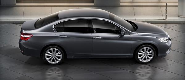 Honda Accord รถยนต์รุ่นซีดานที่กำลังได้รับความนิยม