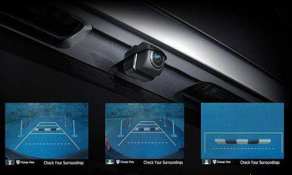 กล้องส่องภาพด้านหลังปรับมุมมองได้ 3 ระดับ
