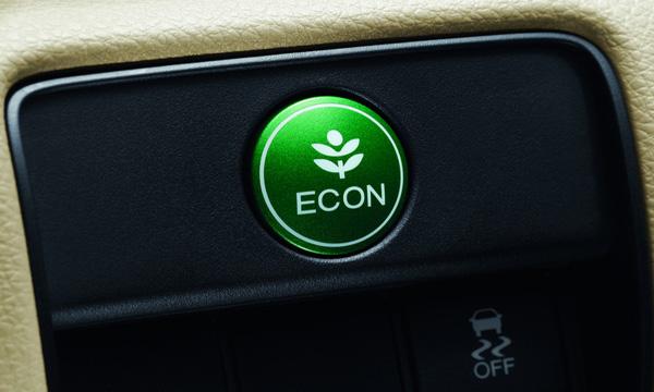 ปุ่ม Econ Mode เพื่อการขับขี่แบบประหยัดพลังงาน