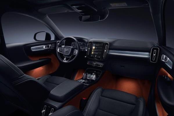 ดีไซน์ภายในห้องโดยสารของ Volvo XC40