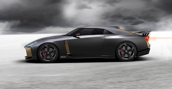 Nissan GT-R50 รถยนต์ที่ได้แรงบันดาลใจจาก Nissan GT-R Nismo รุ่นปี 2018