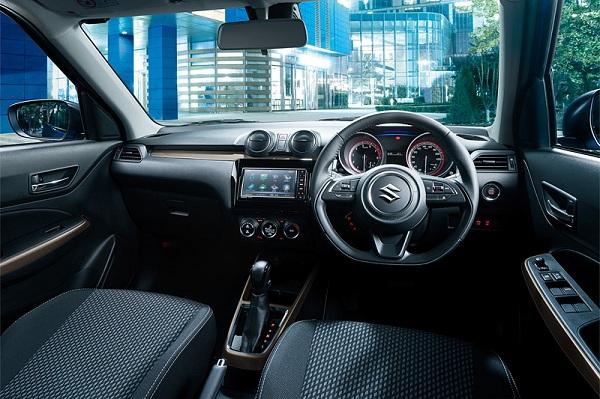 ความลงตัวภายในสำหรับ Suzuki  Swift XR  Limited